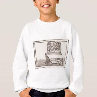 Tzompantliのスカルの棚のフィレンツェのコーデックス スウェットシャツ