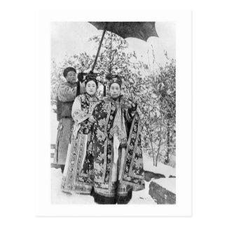 Tz'u中国、c.1の彼の(1835-1908年の)皇太后 ポストカード