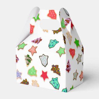 Uの一突き色のクリスマスの休日のクッキー フェイバーボックス