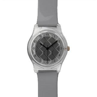 Uの一突き色のCrissの交差のクロム金属St 腕時計