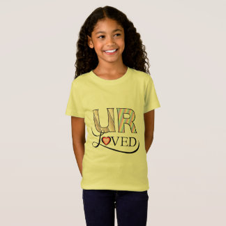 UのRによって愛される子供 Tシャツ