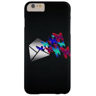 Uはちょうど蝶電話箱の手紙を得ました BARELY THERE iPhone 6 PLUS ケース