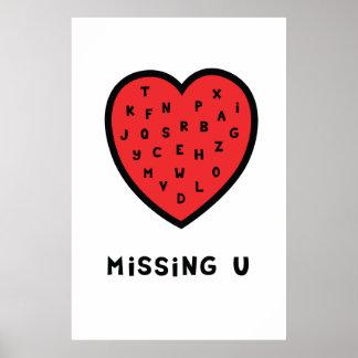 Uを恋しく思うこと ポスター