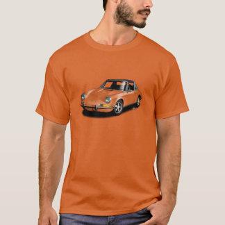 U一突き色のヴィンテージ911のスポーツ・カーのTシャツ Tシャツ