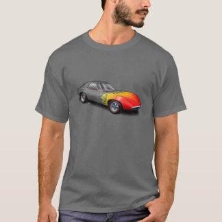 U一突き色の燃えるようなバンシープロトタイプワイシャツ Tシャツ