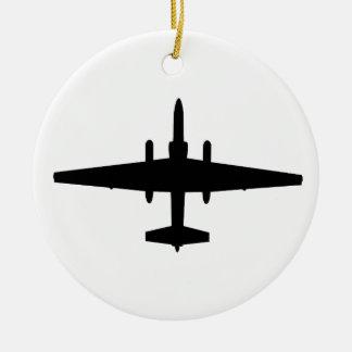 U-2ドラゴンの女性 セラミックオーナメント