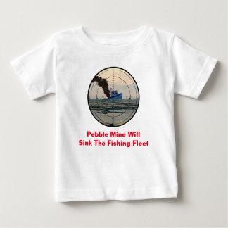 U-29 -停止小石鉱山 ベビーTシャツ
