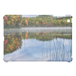 U.P.ミシガン州の秋の反射 iPad MINI カバー