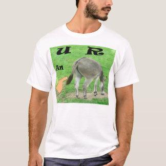 U RろばのおもしろTシャツ Tシャツ