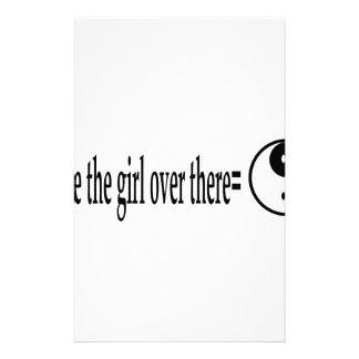 U R女の子 便箋