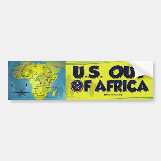 U.S. アフリカのバンパーステッカーから バンパーステッカー
