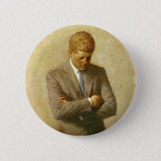 U.S. アーロンShikler著John F Kennedy大統領 缶バッジ