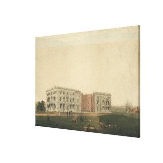 U.S. イギリス著燃焼の後の国会議事堂 キャンバスプリント