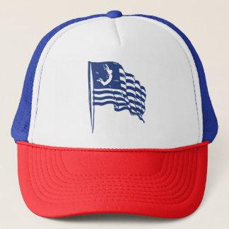 U.S. スリルのアメリカのトラック運転手の帽子の キャップ