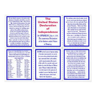 U.S. ポケットパンフレット独立宣言 チラシ