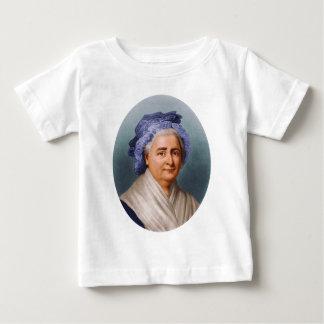 U.S. マーサDandridge Custisワシントン州最初女性 ベビーTシャツ