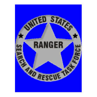 U.S. レーンジャーの調査および救助 ポストカード