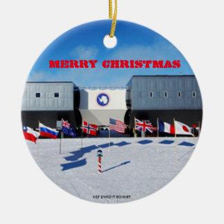 U.S. -南極の南極場所のオーナメント セラミックオーナメント