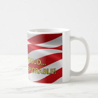U.S. 嘆かわしいがあることの誇りを持ったな嘆かわしいほどに旗 コーヒーマグカップ