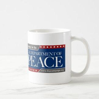 U.S. 平和キャンペーンマグの部門 コーヒーマグカップ