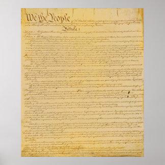 U.S. 憲法ポスター ポスター