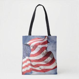 U.S. 旗のトート トートバッグ
