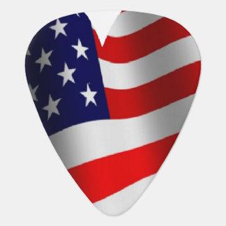 U.S. 旗 ギターピック