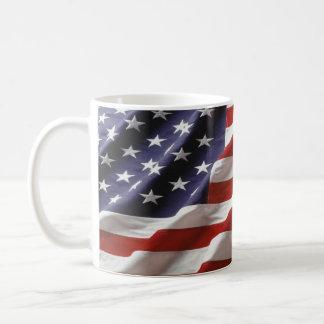 U.S. 旗 コーヒーマグカップ