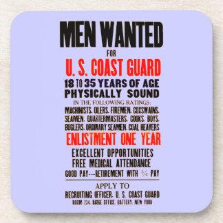 U.S. 沿岸警備隊の人は1914のコルクのコースターがほしいと思いました コースター
