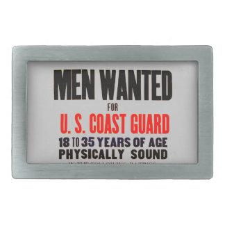 U.S. 沿岸警備隊の人は1914ベルトの留め金がほしいと思いました 長方形ベルトバックル