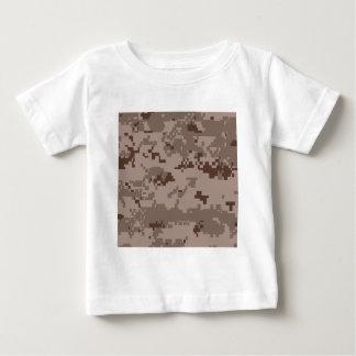 U.S. 海兵隊のMarpatの砂漠のカムフラージュ ベビーTシャツ