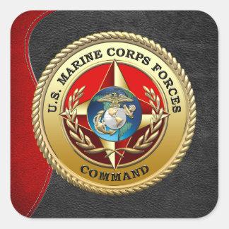 U.S. 海兵隊は強制します命令(MARFORCOM) [3D] スクエアシール