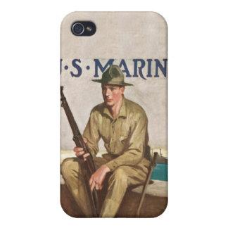 U.S. 海兵隊員は兵士のiPHONE 4のSpeckの例です iPhone 4/4Sケース