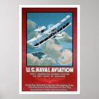 U.S. 海軍の航空活動(US02304) ポスター
