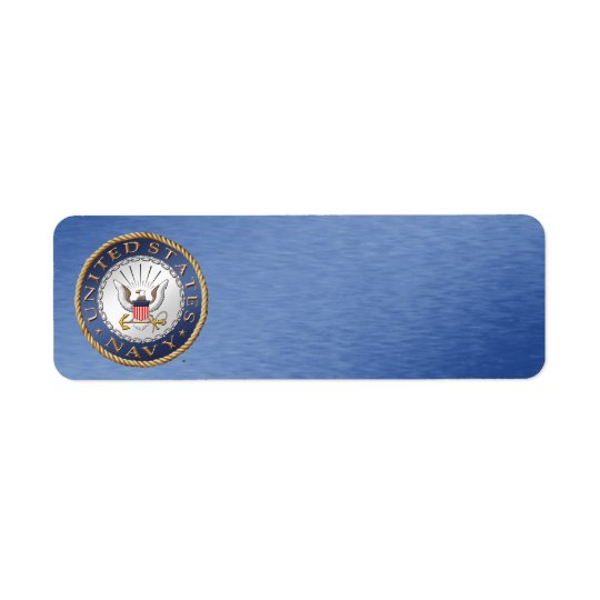 U.S. 海軍宛名ラベル ラベル