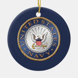 U.S. 海軍退役軍人の陶磁器のオーナメント セラミックオーナメント