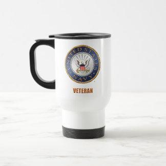 U.S. 海軍退役軍人旅行か通勤者のマグ トラベルマグ