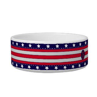 U.S. 祝祭日の愛国心が強いお祝い ボウル