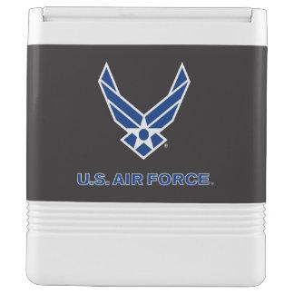 U.S. 空軍ロゴ-青 IGLOO クーラーボックス