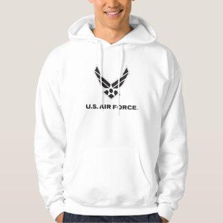 U.S. 空軍ロゴ-黒 パーカ