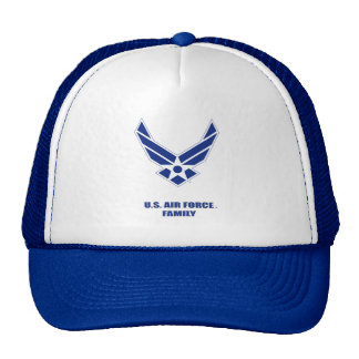 U.S. 空軍家族のトラック運転手の帽子 メッシュキャップ