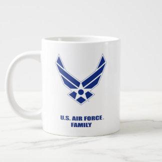 U.S. 空軍家族の専門のマグ ジャンボコーヒーマグカップ