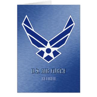 U.S. 空軍退職したなカード カード