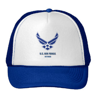U.S. 空軍退職したな帽子 メッシュ帽子