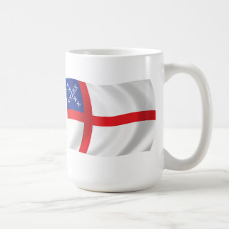 U.S. 米国聖公会の旗のマグ コーヒーマグカップ