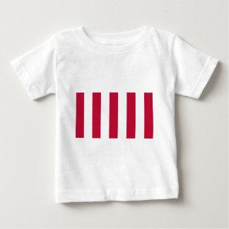 U.S. 自由9の縦のストリップの旗の息子 ベビーTシャツ