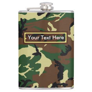 U.S. 軍の森林カムフラージュ6つのozか8つのoz フラスク