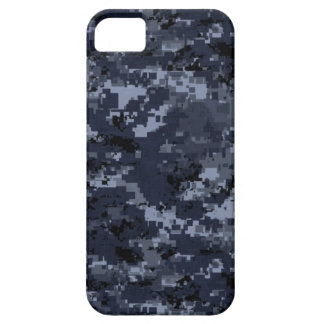 U.S. 軍の青いカムフラージュ iPhone SE/5/5s ケース
