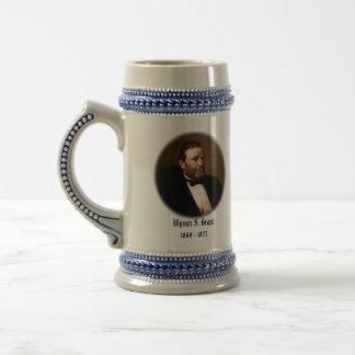 U.S.A. 第18大統領(収集できるマグ) ビールジョッキ