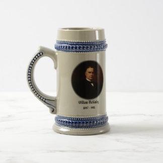 U.S.A. 第25大統領(収集できるマグ) ビールジョッキ